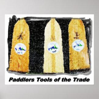 Herramientas de los Paddlers Posters