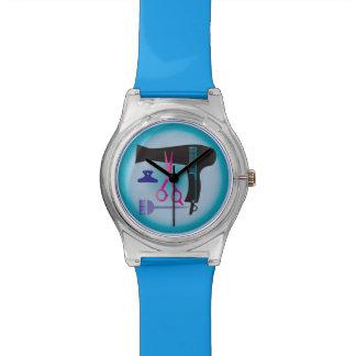 Herramientas de los peinados reloj de pulsera