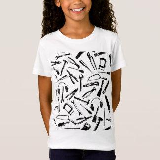 Herramientas negras del modelo camiseta