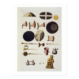 Herramientas y artefactos, Perú del inca, de 'Le Postal