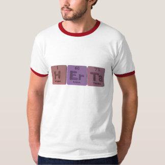 Herta como tantalio del erbio del hidrógeno camisetas