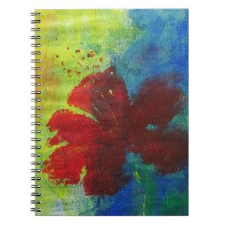 hibisco cuaderno