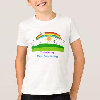 Hice mis primeros niños de la comunión la camiseta