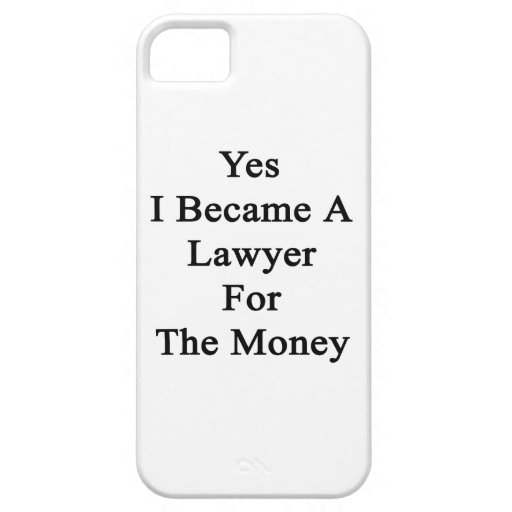 Hice sí abogado para el dinero iPhone 5 coberturas