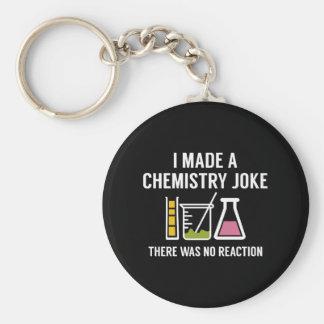 Hice un chiste de la química llavero redondo tipo chapa
