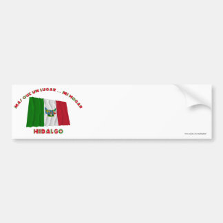 Hidalgo - la O.N.U Lugar… MI Hogar de Más Que Pegatina Para Coche