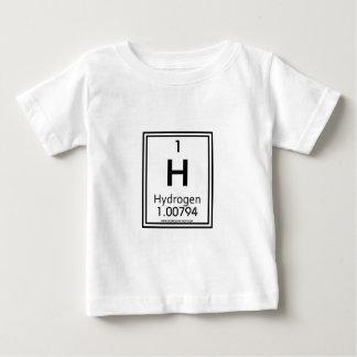 Hidrógeno 01 camiseta para bebé