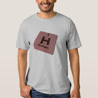 Hidrógeno de H Camiseta