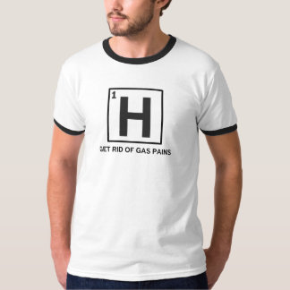 hidrógeno - líbrese de los dolores del gas camisas