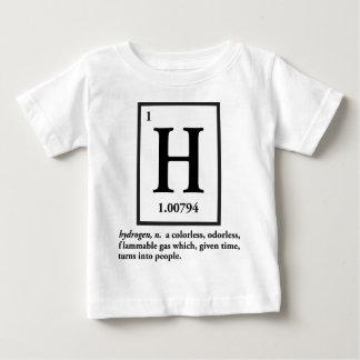 hidrógeno - un gas que da vuelta en gente camisas