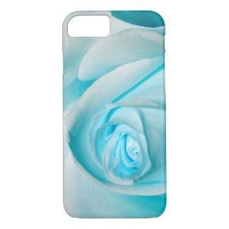Hielo de la turquesa subió funda iPhone 7