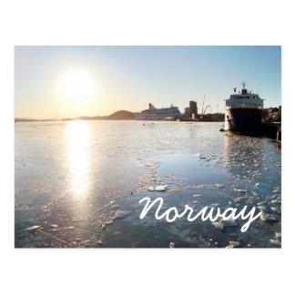 Hielo de Noruega Postal