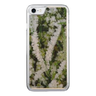 Hierba congelada del invierno funda para iPhone 8/7 de carved