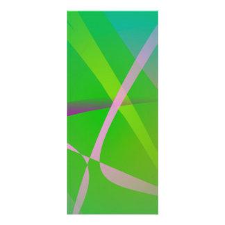 Hierba verde del modelo abstracto plantillas de lonas