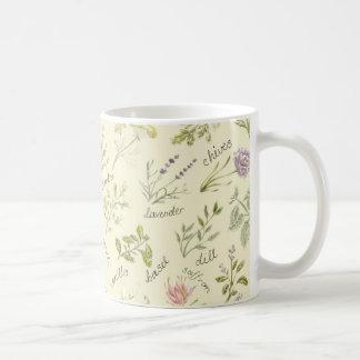 Hierbas y taza de las especias