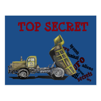High military secret military truck gifts postal