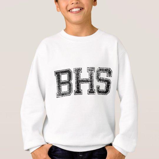 High School secundaria de BHS - vintage, apenado Sudadera
