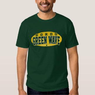 High School secundaria de Gordo; Onda verde Camisetas