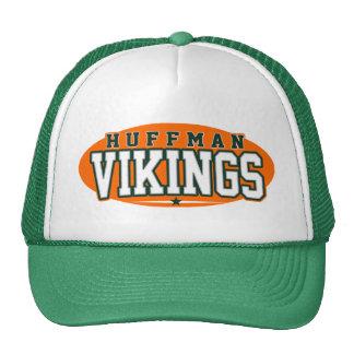High School secundaria de Huffman; Vikingos Gorras