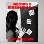 High School secundaria que tiraniza (limpia) Posters
