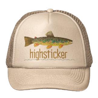 Highsticker - pesca con mosca gorras