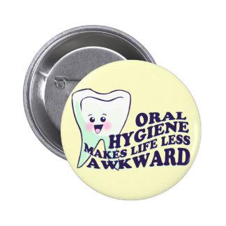 Higienista dental chapa redonda de 5 cm