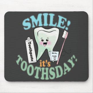 Higienista dental del dentista alfombrilla de ratón