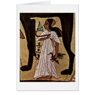 Hija de difunto del pintor de la cámara grave tarjeta de felicitación