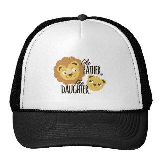 Hija del padre gorras de camionero