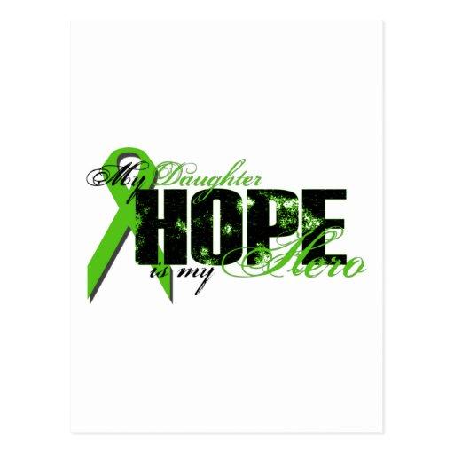Hija mi héroe - esperanza del linfoma postal