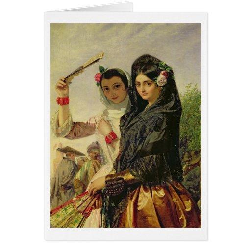 Hijas de Alhambra Tarjeta