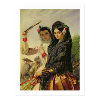 Hijas de Alhambra Postal