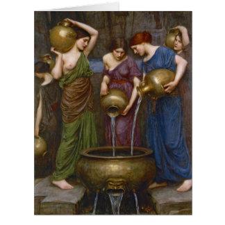 Hijas del Danaus 1903 Tarjeta De Felicitación Grande