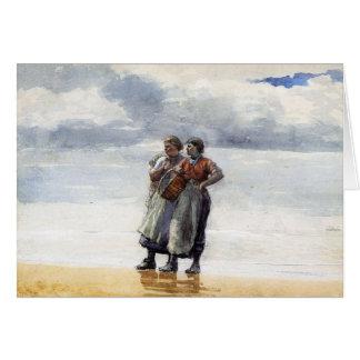 Hijas del mar tarjeta