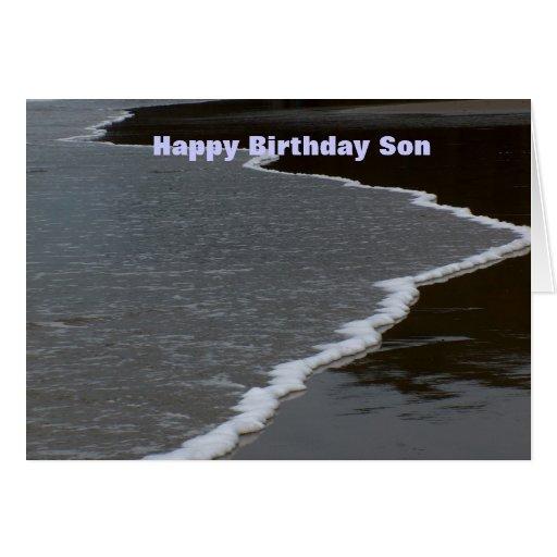 Hijo del feliz cumpleaños felicitaciones