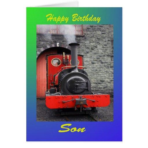 Hijo del feliz cumpleaños felicitacion