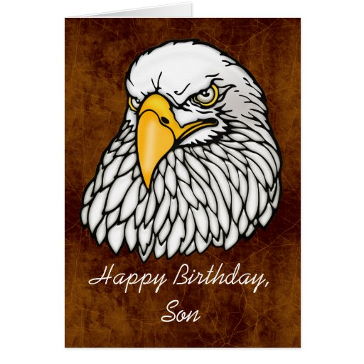 Hijo en el cumpleaños de las tropas tarjetas
