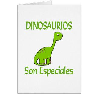 Hijo Especiales de Dinosaurios Felicitaciones