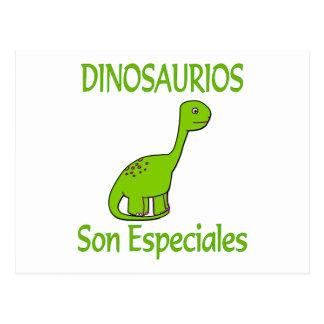 Hijo Especiales de Dinosaurios Postal