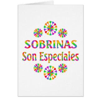 Hijo Especiales de Sobrinas Tarjeta De Felicitación