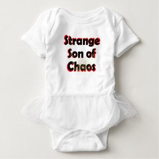 Hijo extraño del caos body para bebé