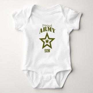 Hijo orgulloso del ejército camisetas