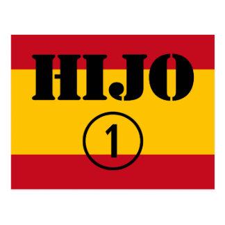 Hijos españoles: Uno de Hijo Numero Postal