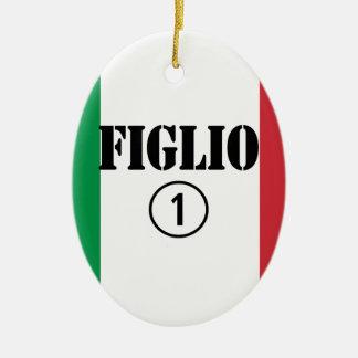 Hijos italianos: Uno de Figlio Numero Adorno De Reyes