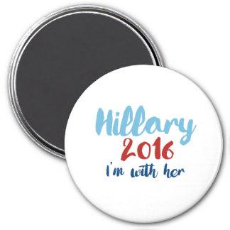 Hillary 2016 - Estoy con ella - el poster de la Imán