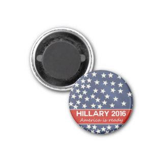 Hillary 2016: Estoy listo Imán Redondo 3 Cm