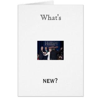 ¿Hillary%20Clinton-JTM-023663, cuáles es, nuevo? Tarjeta