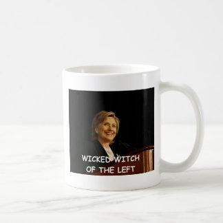 hillary anti Clinton Taza De Café