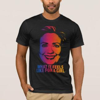 Hillary - camisa de Obama del voto