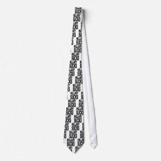 Hillary chupa corbata personalizada